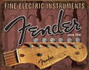 Fender Metal Sign