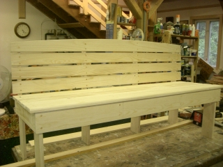 Custom Built Boat Bench