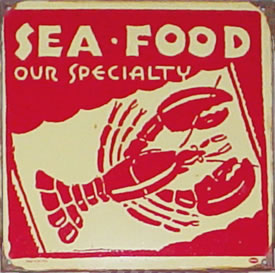 12 x 12 - Seafood - A Top Seller