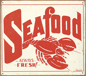 12 x 14 - Seafood - A Top Seller