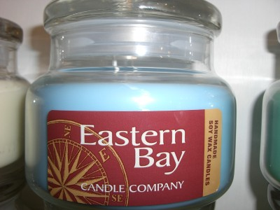 Eastern Bay Candle Compay - Homemade Soy Candles
