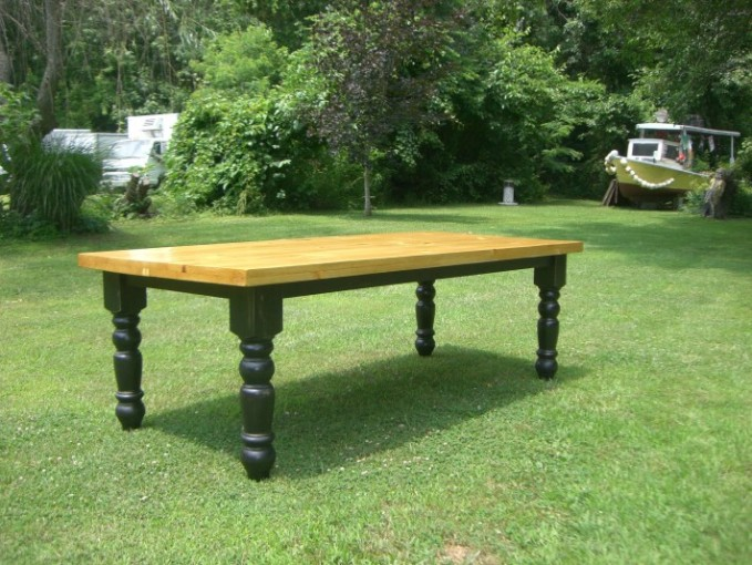 Custom Made Farm Tables To Your Specifications Pictures