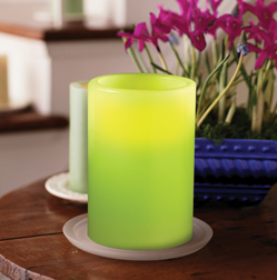 Flameless candles are the safe alternative for anywhere you'd rather not have any open flame