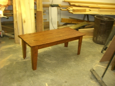 Coffe/ End tables are $165, again you choose the stain and color.