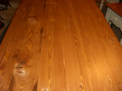 36 inch wide recycled lumber farm tables are $375 you choose the size (length) and stain.